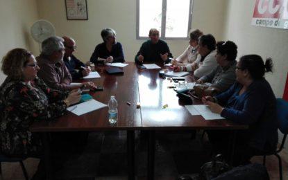 CCOO constituye su nueva comisión ejecutiva comarcal