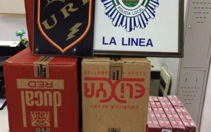 La Policía Local interviene 500 cajetillas de tabaco de contrabando