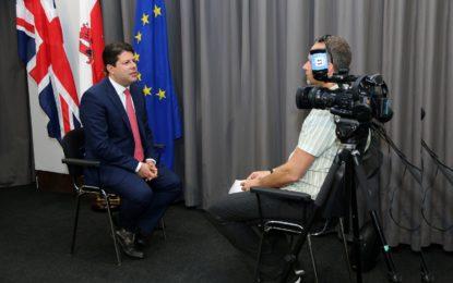 Gibraltar, prioridad informativa para los medios de comunicación de todo el mundo en la fase previa al Brexit