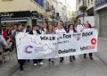 300 personas en la marcha por la solidaridad en Gibraltar