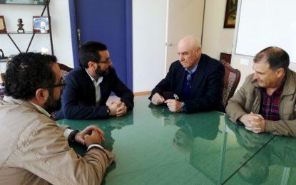 El alcalde y el presidente de la Balona zanjan la polémica surgida en los últimos meses entre el Ayuntamiento y el club