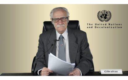 El Ministro Bossano expone ante el C24 de la ONU los planes neocoloniales de España
