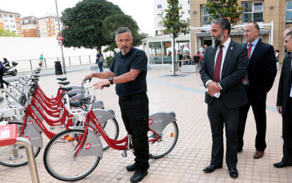 Redibike, el nuevo servicio de alquiler de bicicletas en Gibraltar, contará con 105 bicicletas y 120 anclajes repartidos en 13 estaciones