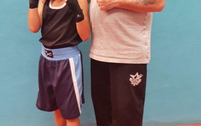 El joven boxeador Miguelito de los Ríos representará a la ciudad en los campeonatos de Andalucía de boxeo