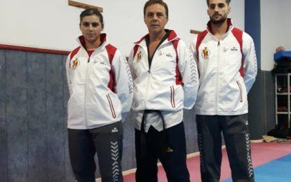 El concejal de Deportes felicita a los deportistas del club Seúl-Gym Hércules por su participación en el Mundial de Taekwondo