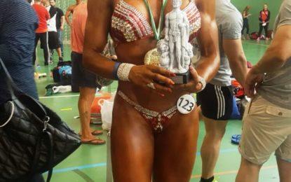 La linense, Cristina Almansa, campeona de Andalucía en la categoría de body-fitness