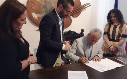 La Unión Deportiva cede indefinidamente al Museo Cruz Herrera dos obras del artista linense