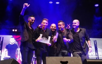 El grupo gibraltareño Jetstream ganó anoche el Gibraltar International Song Festival