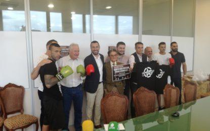 """Presentada la velada profesional de boxeo """"Homenaje a Antonio de la Rosa"""" que se celebrará el 2 de junio"""