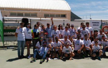 Helenio Lucas felicita al Club Marítimo Linense por el desarrollo y participación en el Campeonato de Andalucía de Remo en banco fijo