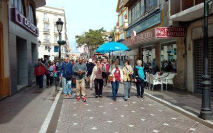 Turismo realiza una visita guiada con medio centenar de viajeros onubenses