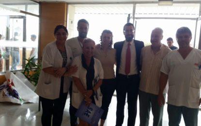 El alcalde respalda la campaña de segregación del hospital linense desarrollada por los sindicatos sanitarios