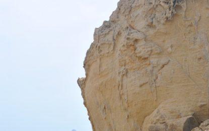 """""""Piedra contra piedra"""", de Candela Sebastiá, primer premio del V Concurso escolar de fotografía de Medio Ambiente"""