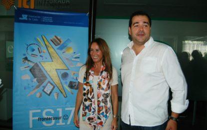 Salvador Puerto y Gema Pérez presentan las ayudas de Fronterasur 2017 al sector cultural del Campo de Gibraltar