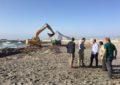 El Ayuntamiento de La Línea pide a Demarcación de Costas un informe sobre el carril de transporte de arena en Sobrevela