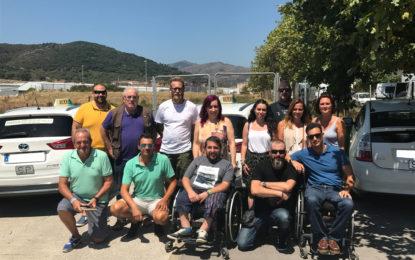 El Grupo de Cooperación Mutua, mantiene un encuentro con la directiva de Radio Taxi Algeciras