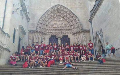 Una alumna del Instituto Antonio Machado representa a Andalucía en el IX foro juvenil de patrimonio mundial celebrado en Logroño