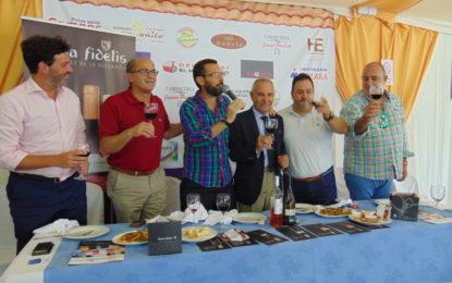 Cata de vinos de Pinna Fidelis en la Caseta El Patio