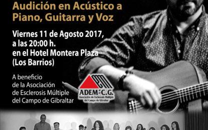Audición de la Academia de Alejandro Muñoz a beneficio de ADEM-CG el próximo 11-08-2017