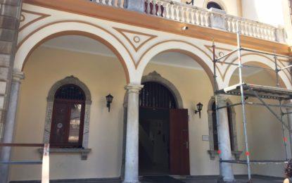 Adecentamiento de la fachada del Museo Cruz Herrera