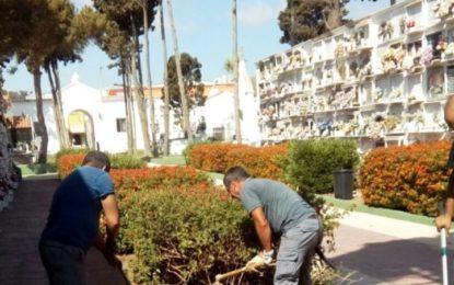 El ayuntamiento acondiciona el cementerio para la incorporación de una máquina portaféretros