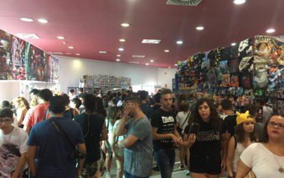 El VI Salón del Cómic y el Manga alcanzó las 8.000 visitas