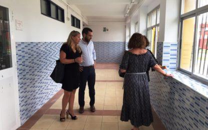 El ayuntamiento ultima las obras en los colegios ante el comienzo del curso escolar