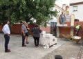 Iniciadas las obras de colocación de un portón de salida de emergencias en el colegio público Pablo Picasso