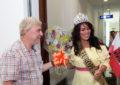 Miss Europa, la gibraltareña Davinia Baglietto, recibida con honores por el ministro de Cultura, Steven Linares