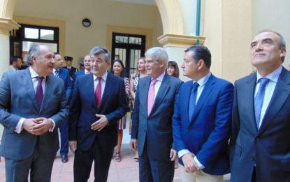 Landaluce agradece al Ministro de Asuntos Exteriores, Alfonso Dastis, su visita al Campo de Gibraltar