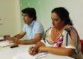 Miguel Tornay y Bettina Pérez presentaron las opciones que tiene La Línea de acogerse a las ayudas para zonas con necesidades de transformación social