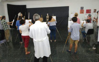 La Casa de la Cultura y Reiniciarte comienzan un curso de pintura