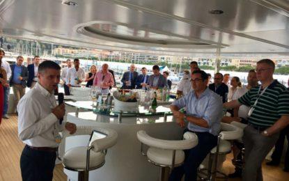 El Ministro Licudi subraya el crecimiento del sector de superyates en Gibraltar
