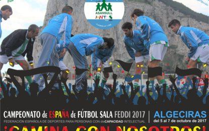 El Club Deportivo ASANSULL participa en los Campeonatos de España de Fútbol Sala para Personas con discapacidad intelectual