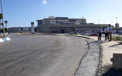 El Consorcio Metropolitano de Transportes habilitará una parada del bus interurbano provisional junto al nuevo hospital