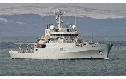 El buque oceanográfico de la Royal Navy HMS Echo visitará Gibraltar
