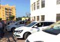 Chacón y De la Encina se reúnen con el colectivo del taxi en La Línea