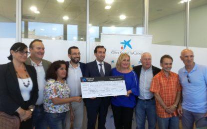 """La Obra Social La Caixa colabora con 2.500 euros con el colectivo de """"Los Locos del Parque"""""""