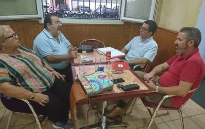El pre candidato Juan Chacón se reúne con Ascteg