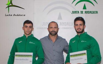 Un linense y un algecireño seleccionados para el Campeonato de Europa de Lucha (BJJ)