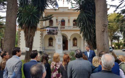 Emotivo homenaje del Partido Popular linense al recordado alcalde del PP, José Antonio Fernández Pons