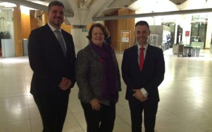 El Ministro Costa se reúne con los secretarios de salud escoceses y galeses