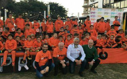 Presentación de alumnos y noveno aniversario de la Escuela Profesional de fútbol Ciudad de La Línea