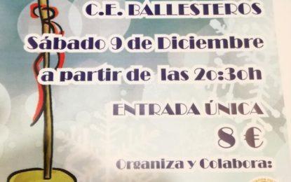 "Alborada y ""La Fragua"" organizan una zambomba jerezana en el Ballesteros"