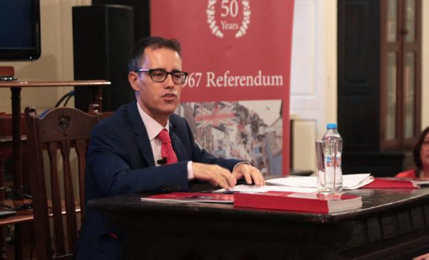 El Gobierno de Gibraltar define su postura respecto a las consecuencias del Brexit para los ciudadanos comunitarios en Gibraltar