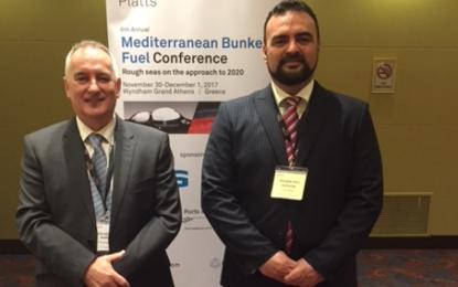La Autoridad Portuaria de Gibraltar asiste a la Sexta Conferencia de Combustibles de Búnker Mediterráneo