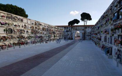 El Ayuntamiento adjudica la construcción de 300 nuevos nichos. Las obras del patio central del cementerio, finalizadas