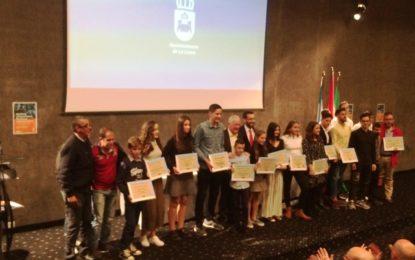 "Gran éxito de la gala ""Premios Deportista Promesas Linenses"""
