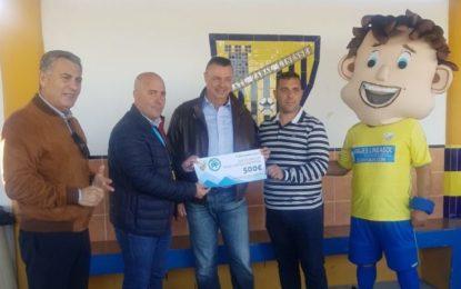 Éxito del torneo de fútbol bebe del Atlético Zabal y el Partido Popular