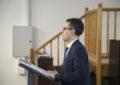 El viceprimer ministro de Gibraltar, Joseph Garcia, habla sobre Europa y Brexit con estudiantes locales